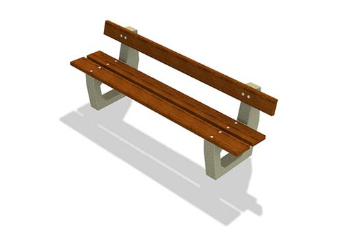concrete_park_benches_back_free_60